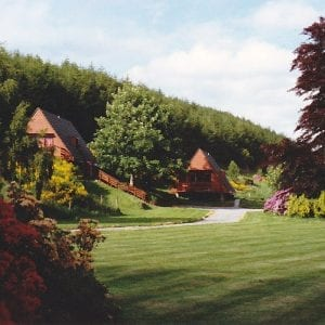 Flowerburn Holiday Homes, Black Isle, Pine & Gorse Lodges